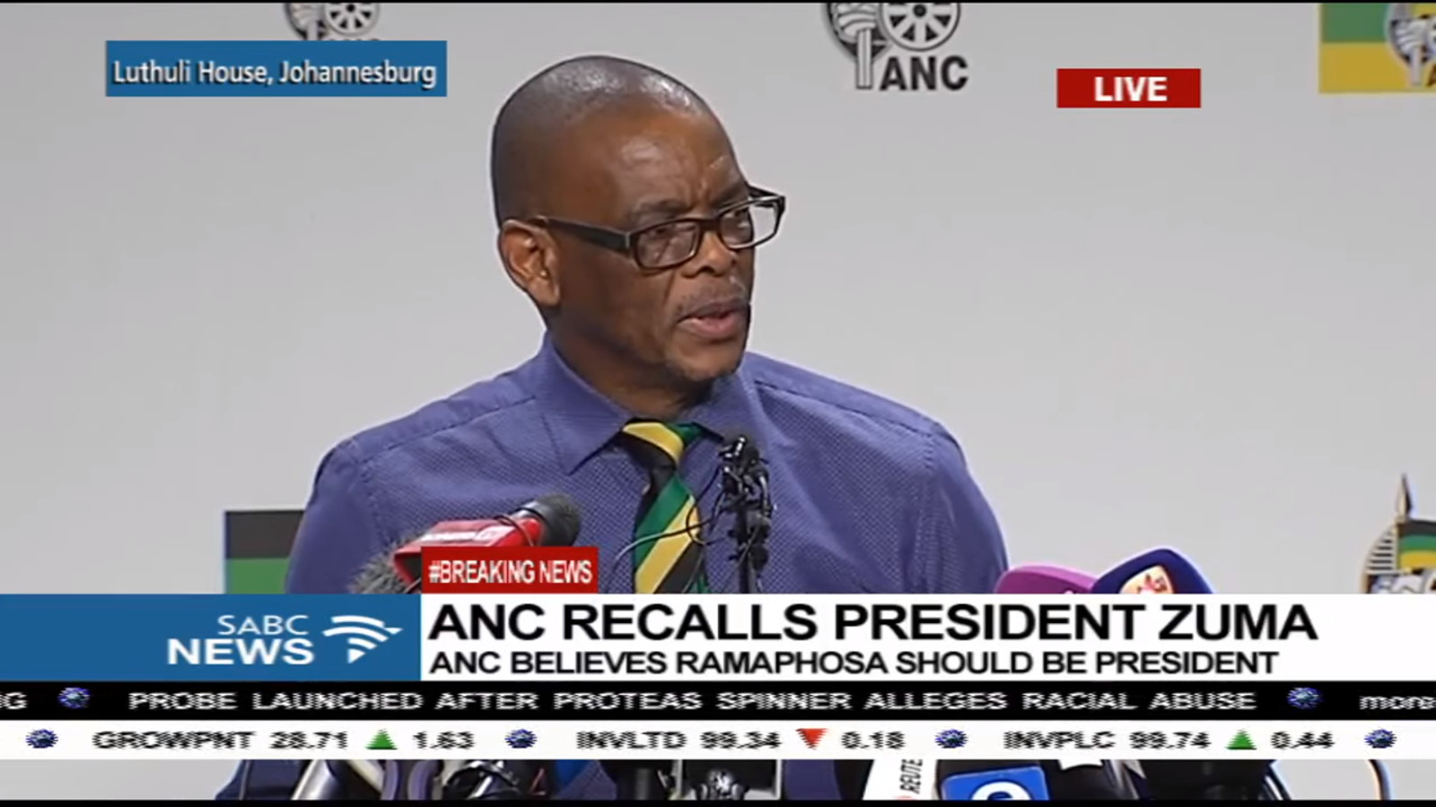 Ace Magashule believes that the ANC is the future of South Africa