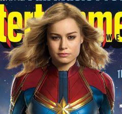 brie larson captain marvel entertainment weekly