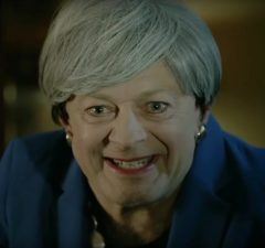 andy serkis theresa may brexit gollum video